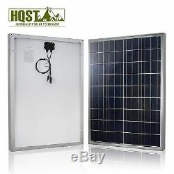 100 Watt 100W 12V Solar Panel Kit 10A Controller Off Grid Power System Car Boat