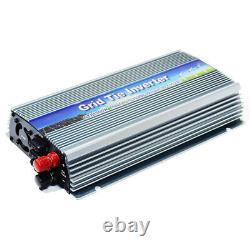 1000 WATT Grid Tie Inverter DC 20-50V Input AC 120V MPPT Pure Sine Wave Power