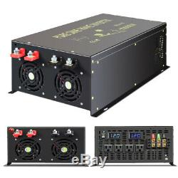 10000W Pure Sine Wave Inverter 48V to 110V 120V Solar Power Inverter Off Grid RV