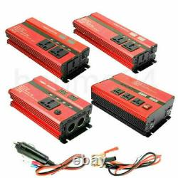 10000W Solar Power Inverter Off Grid Modified Sine Wave Converter 12/24V to 110V