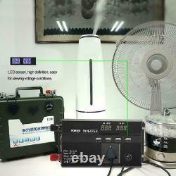 10000W Solar Power Inverter Off Grid Modified Sine Wave Converter DC 24V to 220V