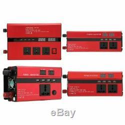 10000W Solar Power Inverter Off Grid Pure Sine Wave Converter 12V/24V to AC 220V