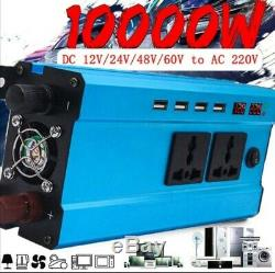 10000w Solar Power Inverter Off Grid 60v To 220v