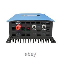 1000W MPPT Solar Grid Tie Inverter Power Limiter DC 22-65V/45-90V to 110-220V US