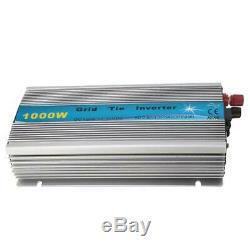 1000W Pure Sine Wave Inverter Grid Tie MPPT Solar Power Inverter 18V/36V DC