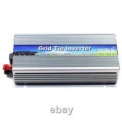 1000W Pure Sine Wave MPPT Grid Tie Power Inverter DC10.8-30V Solar Input AC 220V
