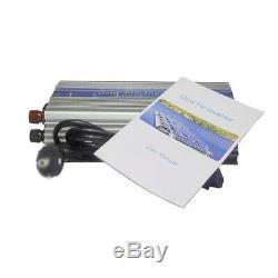1000W Solar Power Inverter Grid Tie Pure Sine Wave 110V 10.5-30v DC US