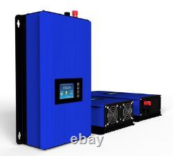 1000w Solar Power Grid Tie Inverter with Limiter sensor Wifi Plug DC 22-65V