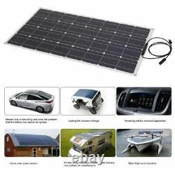 100W Solar Power Module Solar Panel 18V Battery Charging For Off Grid RV Boat 31
