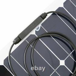 100W Solar Power Module Solar Panel 18V Battery Charging For Off Grid RV Boat MX