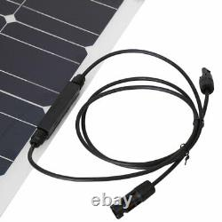 100W Solar Power Module Solar Panel 18V Battery Charging For Off Grid RV BoatHOT