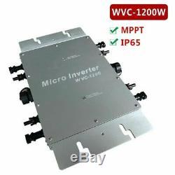 1200W 230V Grid Tie Micro Inverter MPPT Solar Power Pure Sine Wave Output