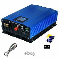 1200W Grid Tie Inverter 110V Output MPPT Charger Pure Sine Wave Solar Power