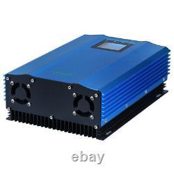 1200W Grid Tie Inverter MPPT Stackable Pure Sine Wave Solar Power 110V Output US