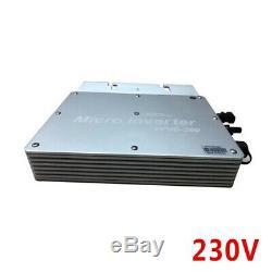 1200W Grid Tie Micro Inverter MPPT Solar Power Pure Sine Wave Output 230V US