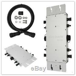 1200W MPPT Grid Tie Pure Sine Wave Micro Solar Power Inverter 110V/220V IP65