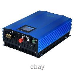 1200W Solar Grid Tie Micro Inverter Solar Power MPPT Waterproof DC To AC 110V