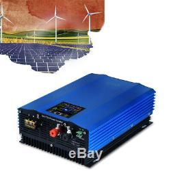 1200w MPPT Solar Power Grid Tie Inverter Pure Sine Wave DC To AC 110V Output