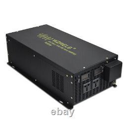 12V/24V/48V DC to 220V/240V AC 50HZ 8000W Off Grid Pure Sine Wave Power Inverter