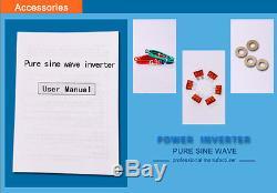 12V/24V to 120V/220V 8000W Off Grid Pure Sine Wave Solar Power Inverter