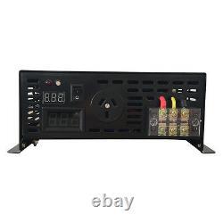 12V/24V to 240V 3000W Off Grid Pure Sine Wave Power Inverter with Remote Control