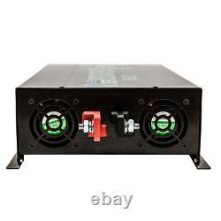 12V DC to 120V AC 4000W Off Grid Pure Sine Wave Home Power Inverter Solar Motor