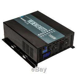 12V DC to 240V AC 50HZ 1000W Off Grid Pure Sine Wave Solar Power Inverter