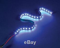 15 feet or LED lighting - GREAT solar panel OFF THE GRID light strip fixture