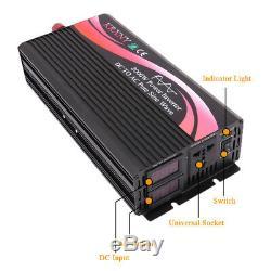 1500W 2000W Off Grid Solar Power Inverter Pure Sine Wave 48V DC to 220V 240V AC