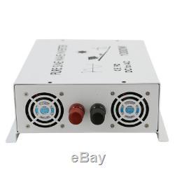 1500W 24V to 120V DC AC Power Inverter Off Grid Pure Sine Wave Inverter Solar
