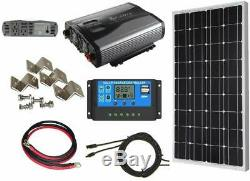 1500W Inverter Solar Power Complete Kit for RV, Boat, Off-Grid Systems