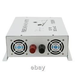 1500W Power Inverter 12V 24V 48V to 120/220V Pure Sine Wave Home Solar Off Grid