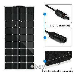 160W Solar Power Panel Monocrystalline Silicon Battery Charger For Off Grid GC