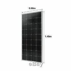 170W 12V Solar Panel Moncrystalline 170 Watt 12V Off Grid PV Solar Powered B2