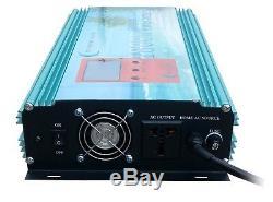 1800W Grid tie power inverter DC 26.4V-45V to AC 110V + LCD meter, MPPT for solar