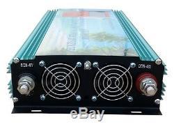 1200w grid tie power inverter dc 26.4-45v to ac 220v for solar panel+LCD MPPT