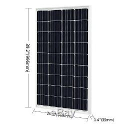 1920W 48V Solar Kit 16 pcs 120W Solar Panel 2000W Grid Tie Solar Power Inverter
