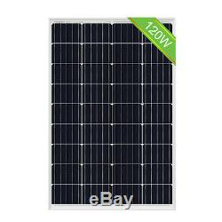 1920W 48V System Kit 16 pcs 120W Solar Panel 2000W Grid Tie Solar Power Inverter