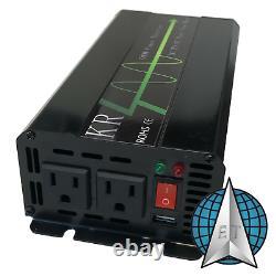 2.4kWh Portable Solar Generator Power Inverter Off Grid Emergency SEE VIDEOS