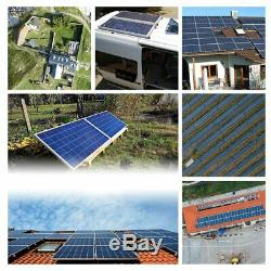 2 X 100W 12V Mono Solar Panel 200 Watt 200W 24V RV Boat Off Grid Solar Power MS