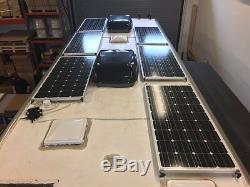 200+25% Watt 12 Volt Solar Panel Off Grid RV Boat highest