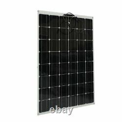 200 Watt 200W Solar Panel Kit with Solar Charge Controller 20V RV Boat Off Grids