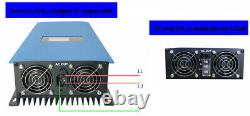 2000W MPPT Grid Tie Inverter with Power Limiter Stackable DC45-90V to AC190-260V
