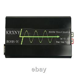 2000W Pure Sine Wave Power Inverter 48V DC to 120V AC for Off Grid Solar from US