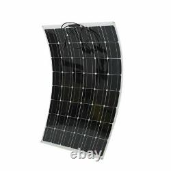 200W Watt Solar Panel Kit with Solar Charge Controller 20V RV Boat Off Grid