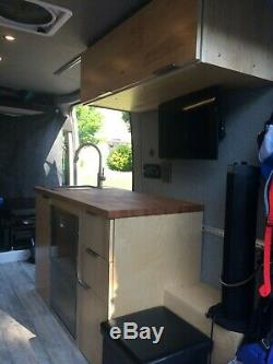 2018 CUSTOM Off-Grid Solar Powered Promaster 136 WB with Shower