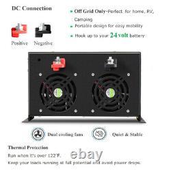 24V to 240V 10000W Pure Sine Wave Solar Inverter Off Grid Remote Generator Power