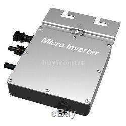 295W Grid Tie Micro Inverter MPPT Solar Power Pure Sine Wave Output Monitoring