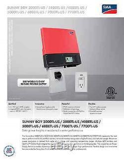 3.36 DIY Solar Panel Kit, SMA Sunny Boy Grid Tied Inverter, Get rid of SDGE