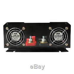 3000W Solar Power Inverter Pure Sine Wave 12V/24V/48VDC to 120V/220VAC Off Grid